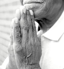 Pruitt prayer hands