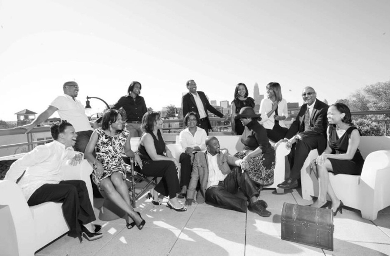 Group portrait of New Generation of African American Philanthropists