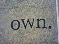 own quote