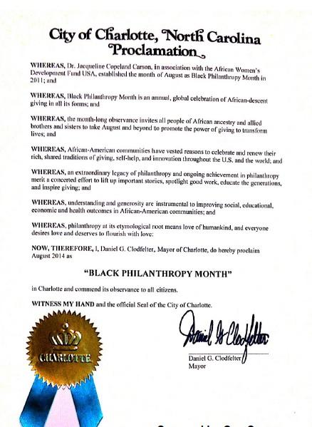 BPM 2014 Proclamation
