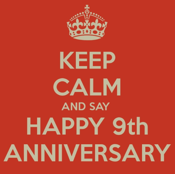 Keep Calm 9th Anniv Temp image