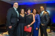 Wright Gala guests, including featured celebrity Blair Underwood