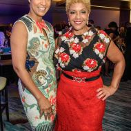 Desiree Rogers and Linda Johnson Rice of Johnson Publishing Company