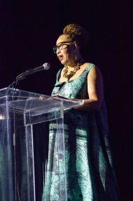 Museum President Juanita Moore