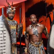 "Enthralling ""tableaux vivants"" transport guests from Africa to the Americas"