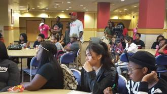 Students at Prairie View A&MU