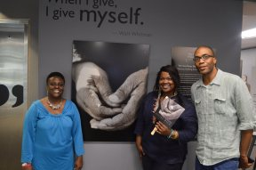 Exhibit closing at JCSU
