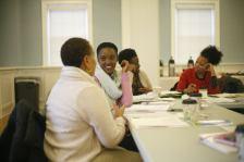 Civic Reflection training at JCSU